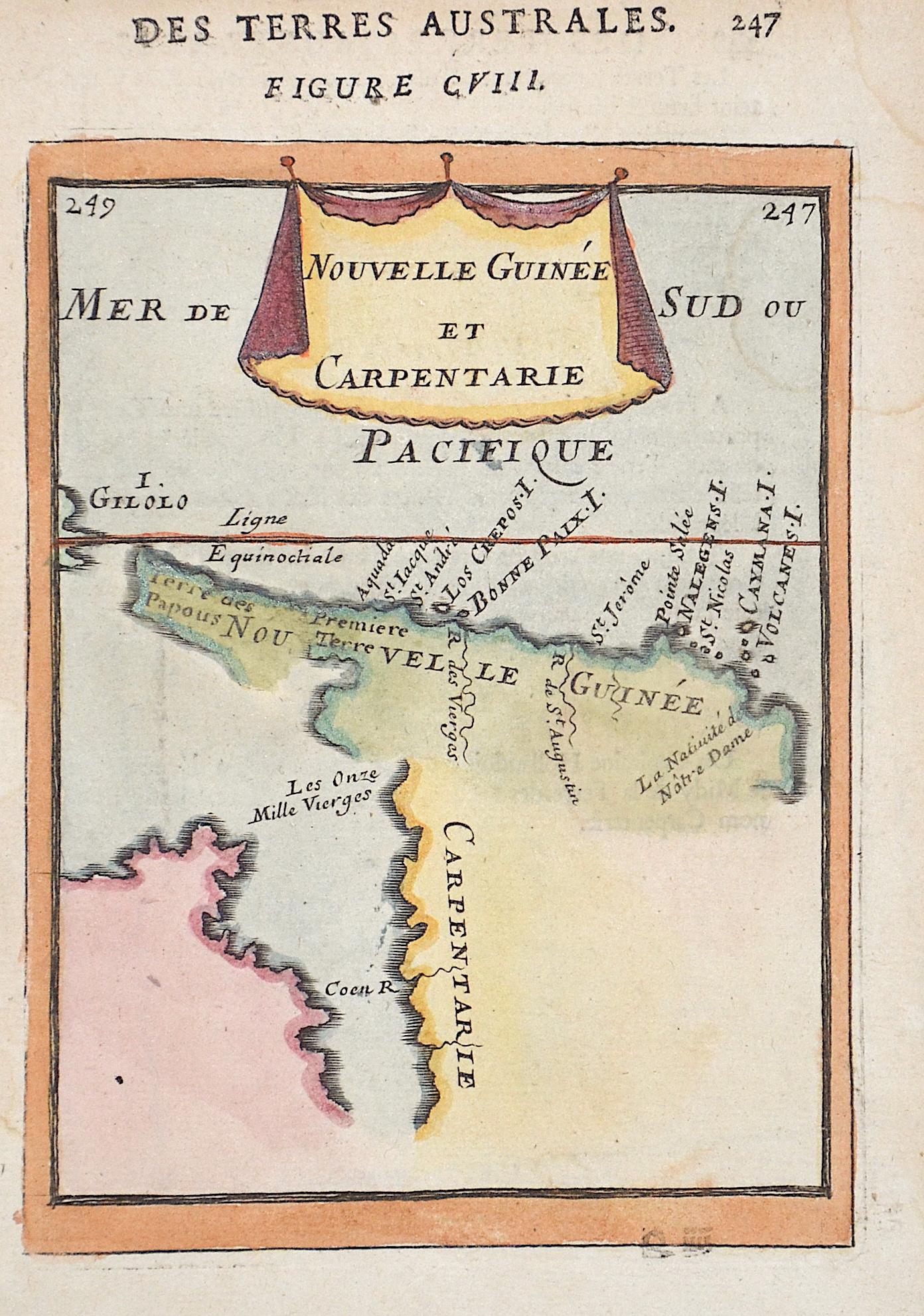 Mallet  Nouvelle Guinee et Carpentarie / Des Terres Australes. Figure CVIII. 247
