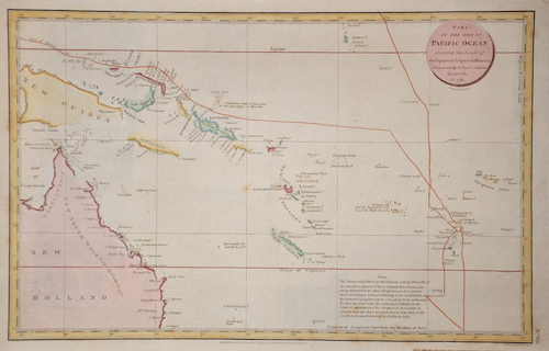 Robinson/Nede G. / S.J. Parte of the Great Pacific Ocean…