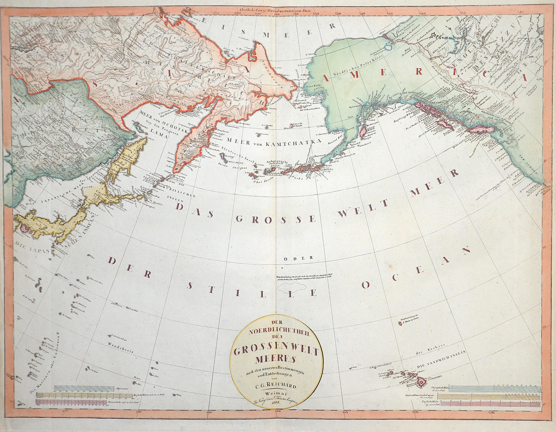 Reichard C.G. Der nördliche Theil des Grossen Weltmeeres