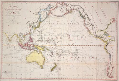 Lapie Alexandre Emile Oceanie ou Australasie et Polynésie