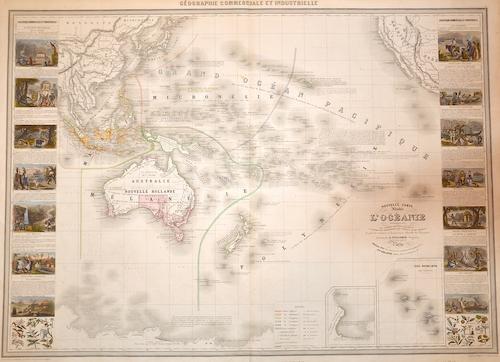 Vuillemin Alexandre Nouvelle Carte illustrée l' Oceanie