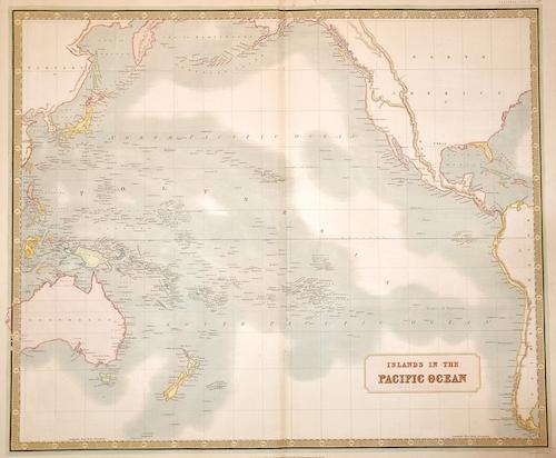 Johnston Alexander Keith Islands in the Pacific Ocean