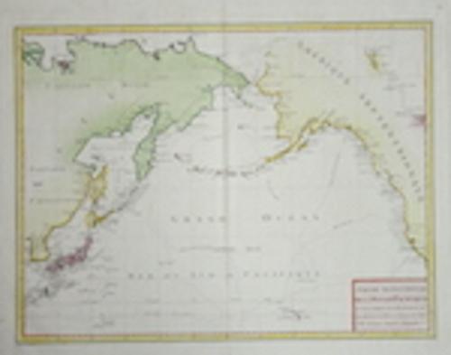 Pérouse, la Jean Francois Partie Septentrionale de l'Océan Pacifique