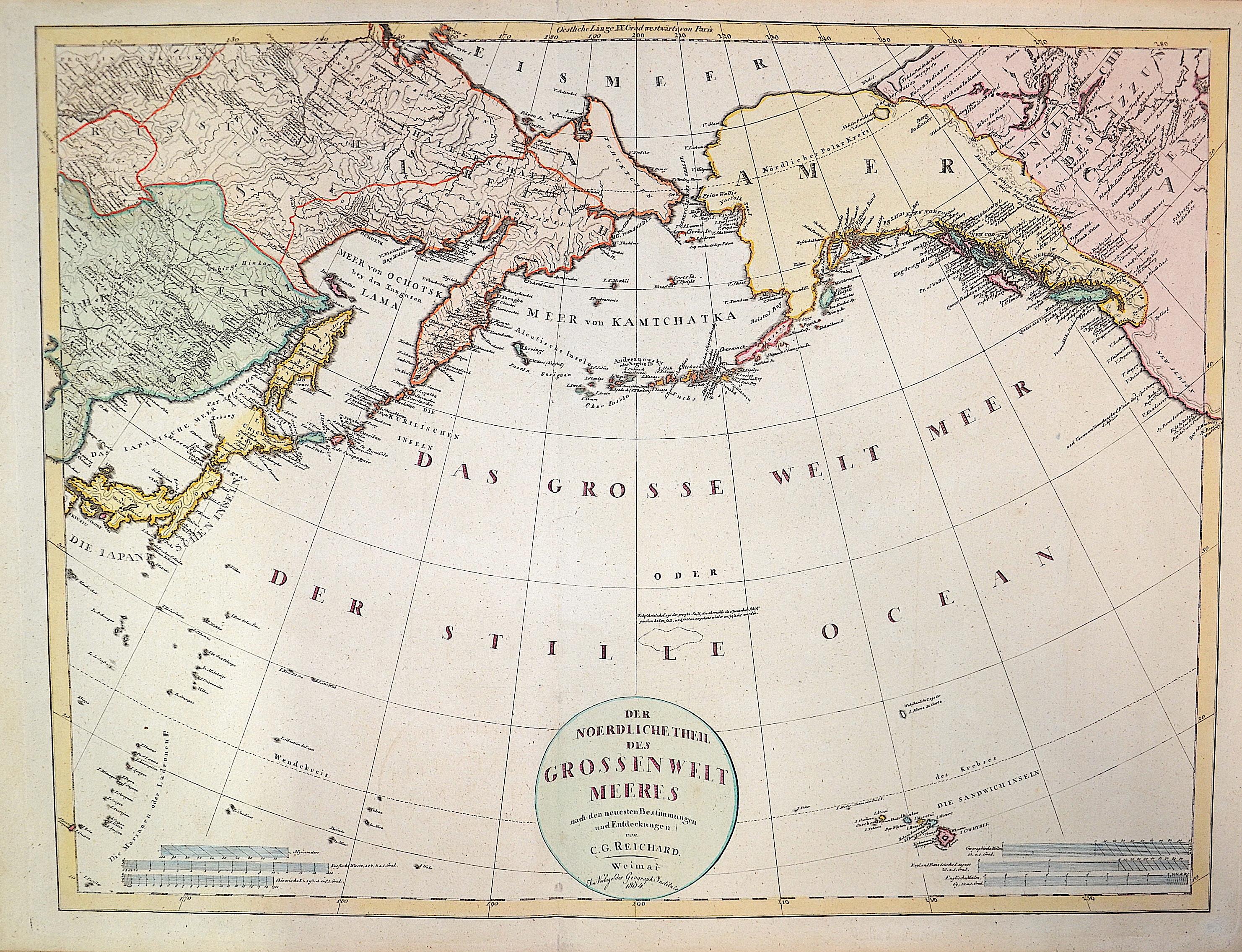 Reichard C.G. Der Noerdliche Theil des grossen Weltmeeres