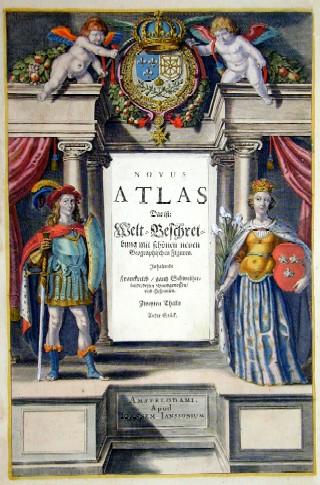 Janssonius  Novus Atlas das ist : Welt- Beschreibung mit schönen neuen Geographischen Figuren inhaltende Frankr./ganz Schweiz/dessen Bundgenossen und Hispanien