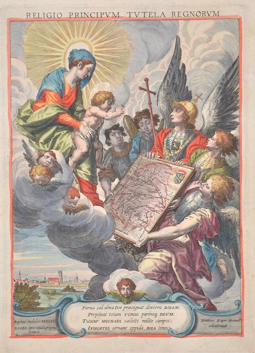 Sadeler  Religio principum, tutela regnorum