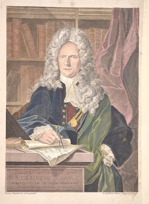 Winter Johann Wilhelm Joannes Baptista Homann Sac. Ceaes. Regq Cath. Maj.