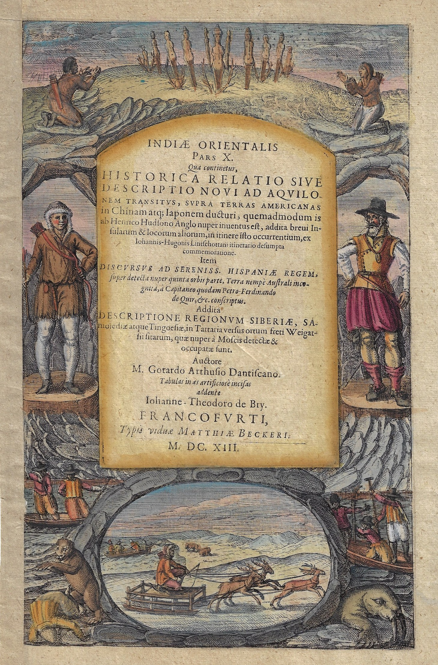 Bry, de Theodor, Dietrich Indiae Orientalis Pars X.