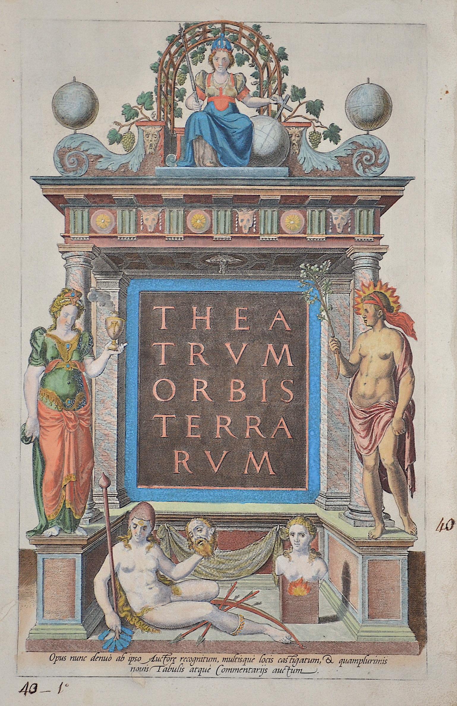 Ortelius Abraham Theatrum Orbis Terrarum