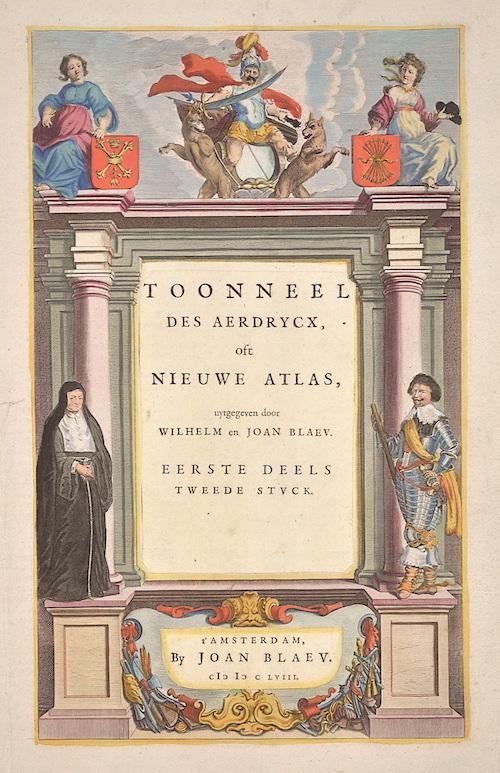 Blaeu Willem Janszoon Toonneel de Aerdrycx oft nieuwe Atlas