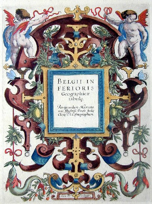 Mercator Gehard Belgii in Ferioris Geographicae Tabulae