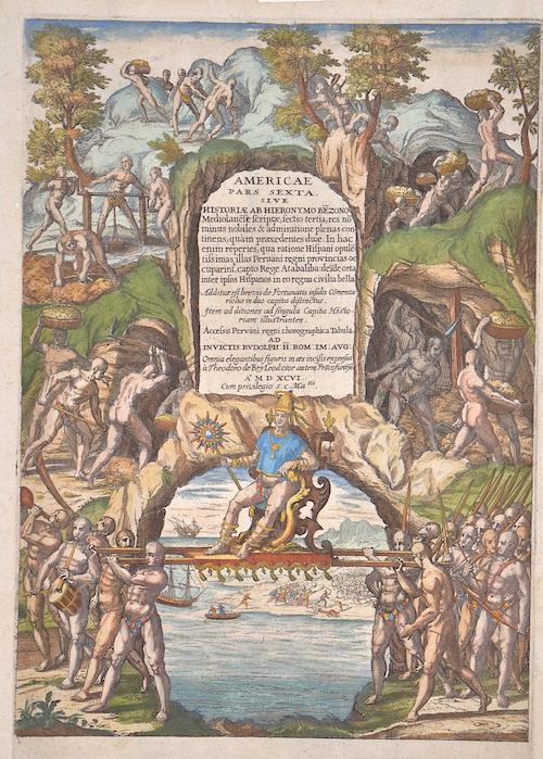 Bry, de Theodor, Dietrich Americae pars sexta….