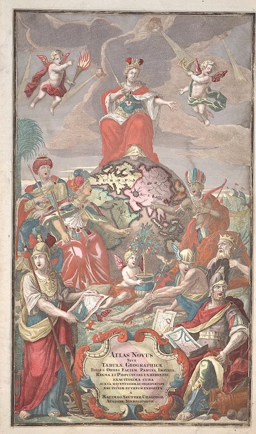 Seutter Matthias Atlas Novus sive Tabulae Geographica…