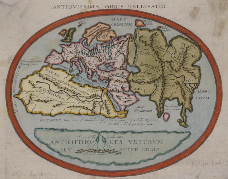 Briet Philippe Antiquissima Orbis Delineatio.