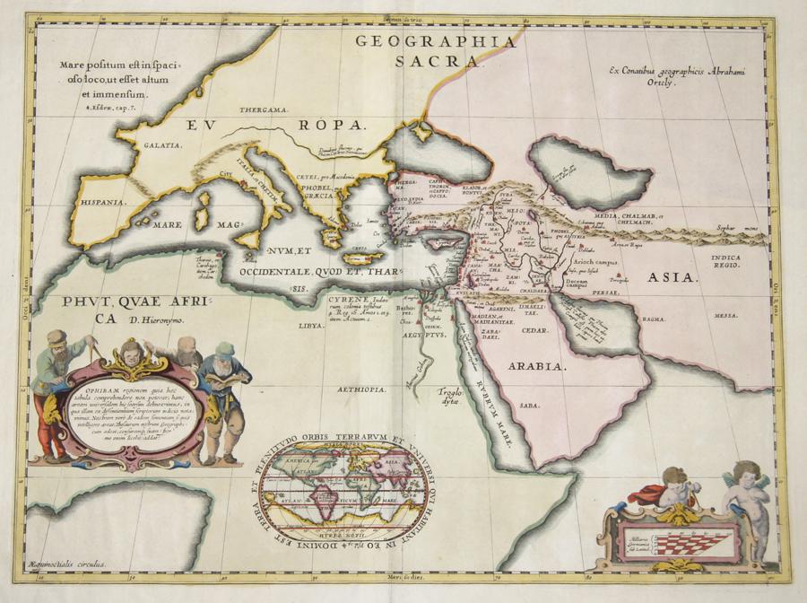 Janssonius Johann Ophiram regionem quia hae tabula comprehendere non peterat, hanc areaam universalem hic…