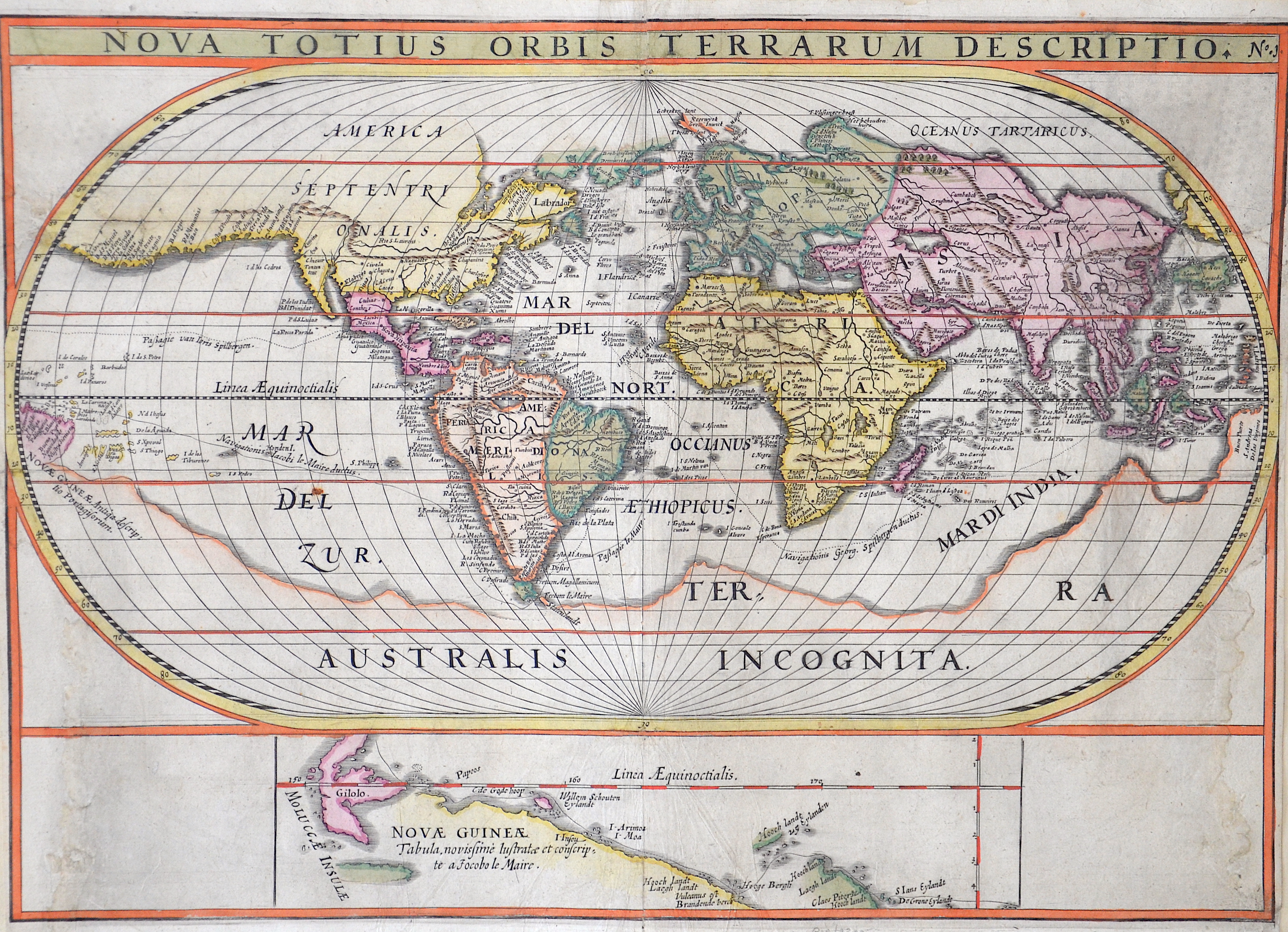 Anonymus  Nova totius Orbis Terrarum Descriptio.