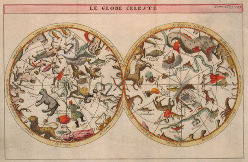 L´Isle, de /Covens & Mortier Guillaume Le Globe Celeste