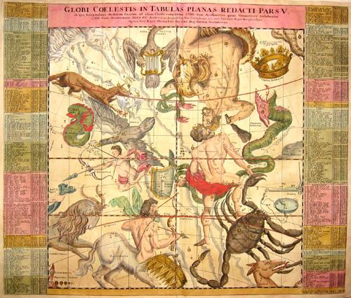 Homann / Doppelmayer, J.G.  Globi coelestis in tabulas planas redacti pars V