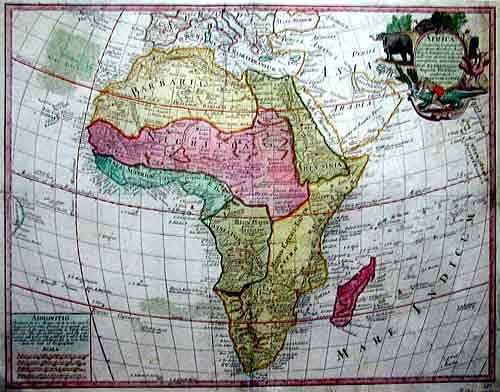 Africae, 1760.